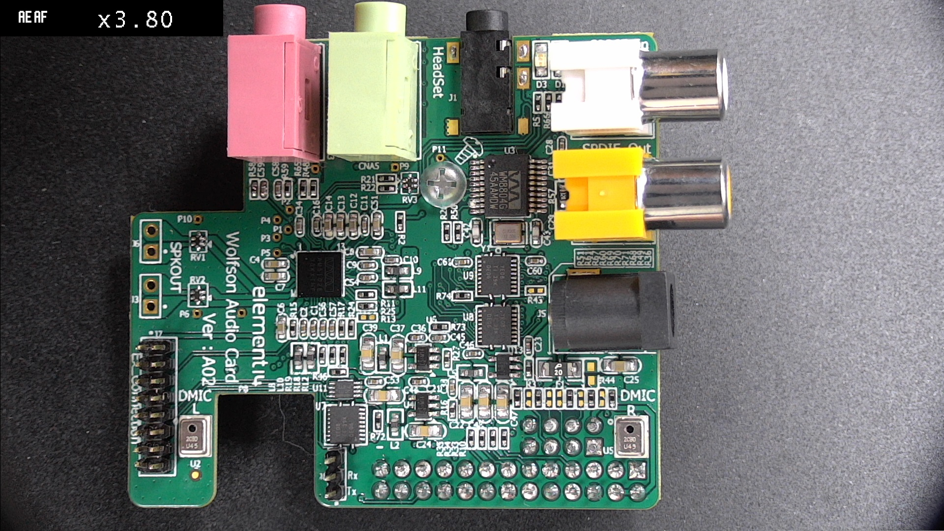 Connecting the Wolfson Sound Card to the Raspberry Pi3 | Life, the